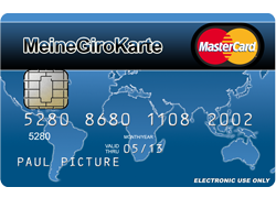 Meine Giro Karte - Prepaid Girokonto mit Kreditkarte