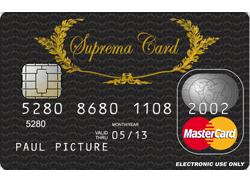 Suprema Card - Prepaid Kreditkarte